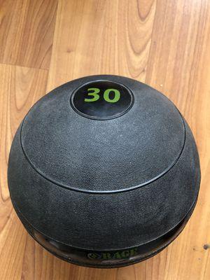 Rage Fitness 30 Lbs Medicine Wall Ball for Sale in Lynnwood, WA