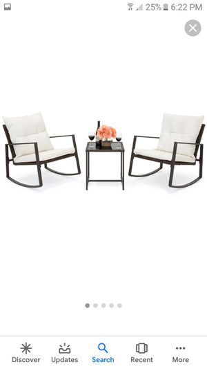 Rocking outdoor patio set for Sale in Baltimore, OH
