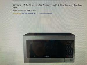 New Samsung Microwave for Sale in Bridgeville, PA