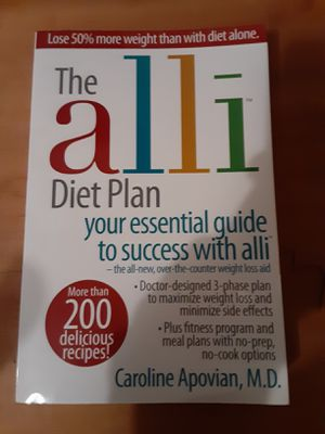 The alli diet plan book for Sale in Gresham, OR