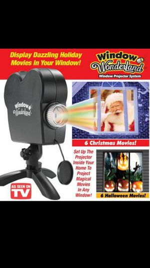Window Christmas projector for Sale in Waterbury, CT