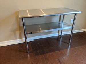 Trinity NSF stainless steel table for Sale in Wake Forest, NC