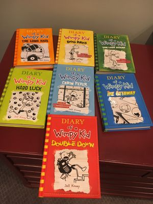 Diary of a wimpy kid series for Sale in Granville, OH