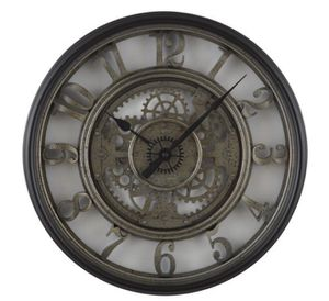 NEW Antique Skeleton Clock - black and silver. For living room, dining room, office etc for Sale in Los Angeles, CA