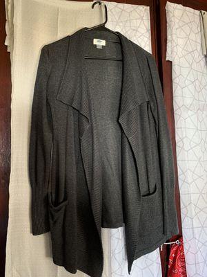Old navy gray cardigan for Sale in Meriden, CT