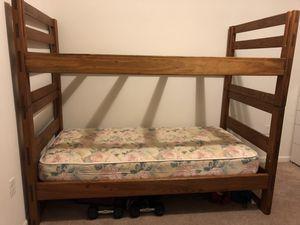 Twin bunk bed for Sale in Manassas, VA