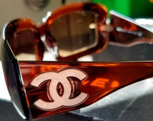 Brown Chanel Mother of Pearl Sunglasses for Sale in New Milford, CT