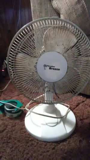 Medium size 3 speed oscillating fan for Sale in Indianapolis, IN