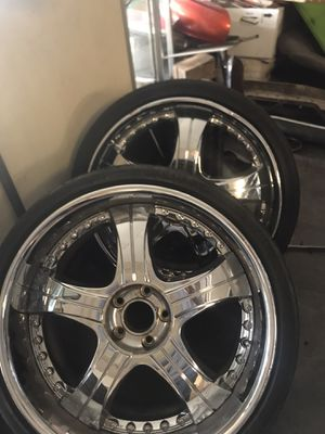20 inch rims 225/30 r 20 bolt pattern 5 112mm for Sale in Kansas City, MO