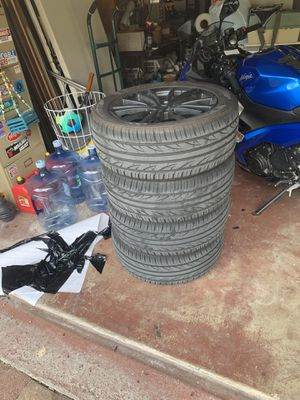 Scion FR-S brz gt86 rims and tires 5x100 for Sale in Biscayne Park, FL