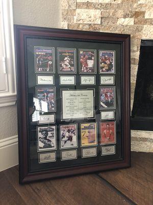 Framed Athletes of the Century Memorabilia for Sale in Dallas, TX