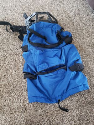 Blue & Black Hiking/Camping backpack for Sale in Chula Vista, CA