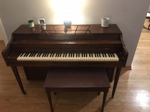 Piano with bench for Sale in Evanston, IL