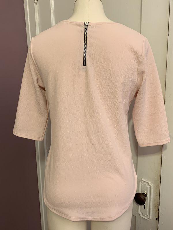 Bar III light pink tunic