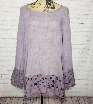 Bo-Ho style top with ball fringes for Sale in Columbia, SC
