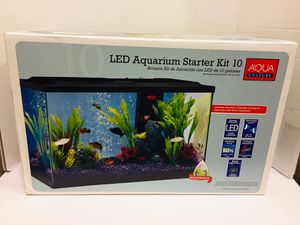 New! LED Aquarium Starter Kit 10 Gallon for Sale in Henderson, NV