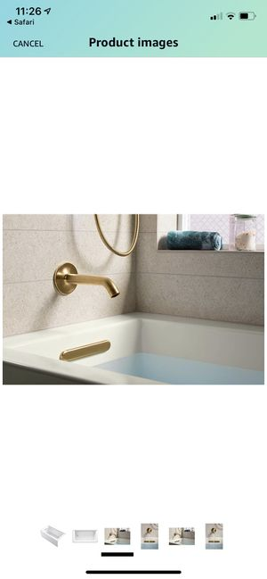 "Kohler K-20201-LA-0 Underscore 60"" X 30"" Alcove Soaking Bathtub with Integral Apron, Integral Flange, and Left-Hand Drain for Sale in Kenilworth, NJ"