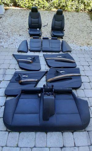 BMW 328 e91 wagon 2006- leather interior seats for Sale in Lake Worth, FL