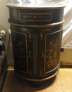 George III Chinoiserie Half Round Cabinet for Sale in Tucson, AZ