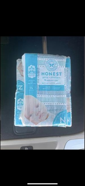 Newborn diapers for Sale in Kyle, TX