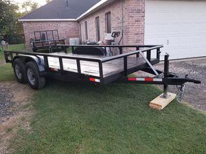 2019 New Heavy Duty Trailer 83x16 Brakes in Both Axels for Sale in Wylie, TX