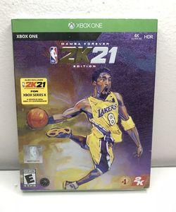 NBA 2k21 Xbox One Mamba Edition for Sale in Hacienda Heights,  CA