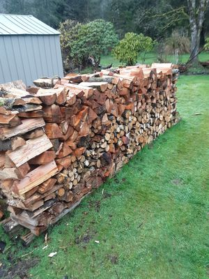 Firewood 75$ half cord for Sale in Aberdeen, WA