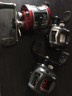 Abu Garcia fishing reels for Sale in Scottsdale, AZ