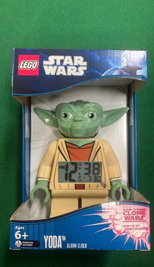NEW LEGO Kids' 9003080 Star Wars Yoda Minifigure Alarm Clock Lego Yoda Clock for Sale in Albuquerque, NM