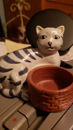 Cat candle holder for Sale in Baltimore, MD