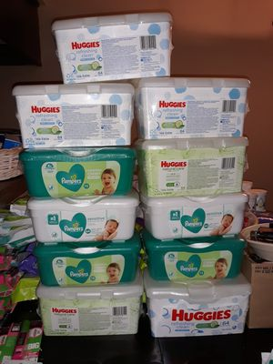 Huggies/Pampers Wipes for Sale in Grand Prairie, TX