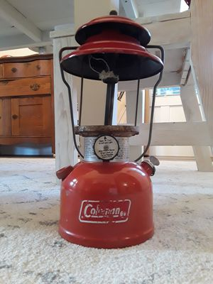 """Vintage 1976 Coleman """"Red"""" Lantern No.200A Dated 6/76 in Fair Condition. Asking $40.00 for Sale in Bakersfield, CA"""