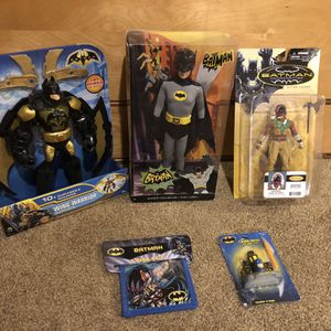 Batman Collectibles Lot for Sale in Maple Valley, WA