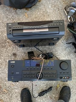 Surround Sound Receiver And Cd Changer for Sale in Clermont,  FL