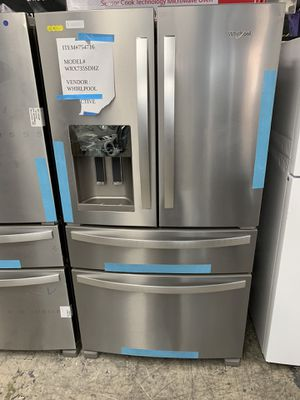 Whirlpool 4 door in stainless steel new open box for Sale in South Gate, CA