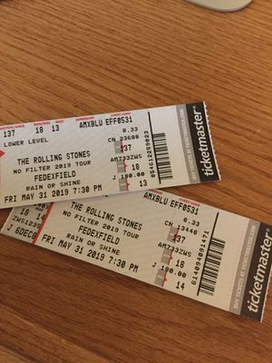 Rolling Stones tickets for Sale in FX STATION, VA