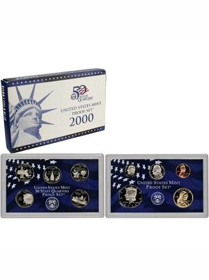 2000-S US Mint Proof Set for Sale, used for sale  Edgewater, NJ