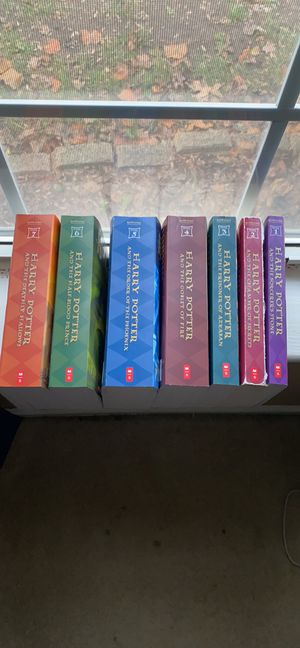 Harry Potter book set. Brand new except for year 2 cover book missing for Sale in Virginia Beach, VA