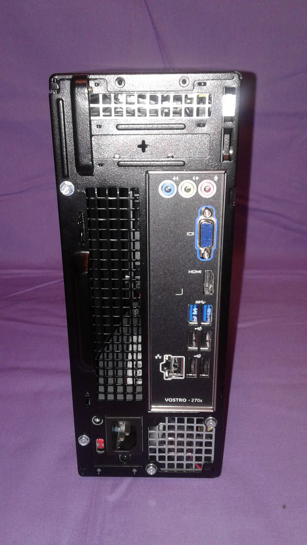 Dell Vostro 270s, Mini Tower