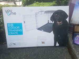 Large dog crate for Sale in Sammamish, WA