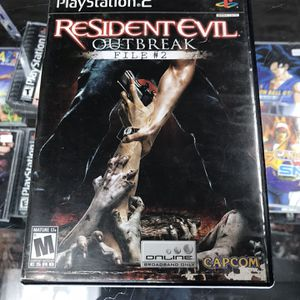 Resident Evil Outbreak 2 Ps2 $80 Gamehogs 11am-7pm for Sale in Bell Gardens, CA