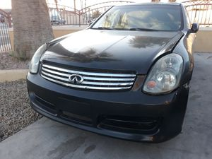 G35 sedan 03-04 headlights and grill for Sale in Las Vegas, NV