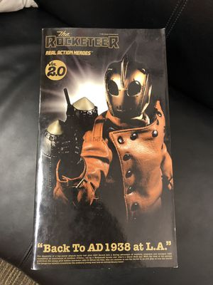 "Medicom Toy Corp. Rocketeer Real Action Heroes Ver. 2.0 12"" Action Figure. for Sale in Peoria, AZ"