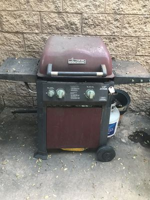 BBQ grill and grill cleaner for Sale in San Diego, CA