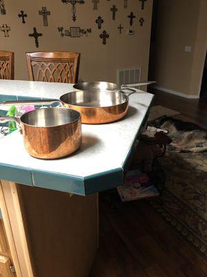 Williams Sonoma copper stove & ovenware for Sale in Plant City, FL