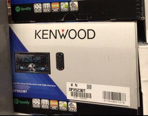 Kenwood DPX523BT Double DIN CAR USB CD Receiver Stereo Bluetooth Pandora Control for Sale in Gardena, CA