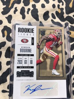 49ers Kendrick Bourne Rookie Card Auto for Sale in Norwalk,  CA
