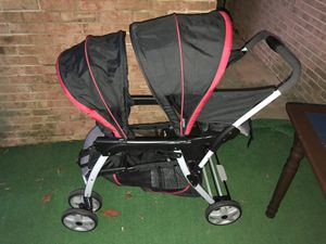 Graco Ready2Grow Click Connect Double Stroller for Sale in Greensboro, NC
