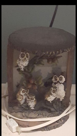 Small owl lamp vintage for Sale in Brunswick, OH