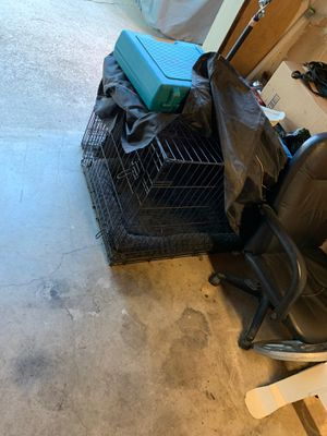 XL dog crate w/ bed and cover for Sale in Richmond, CA